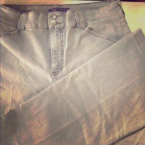 NYDJ jeans grey designer 14